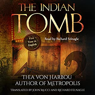 The Indian Tomb audiobook cover art