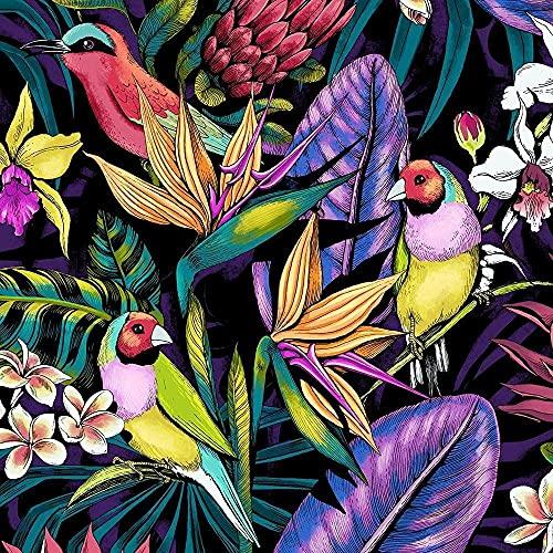 Puzzle 1000 Pezzi-Uccello della giungla tropicale- Giocattoli di decompressione Regalo Intrattenimento per la famiglia Gioco Decorazione natalizia Gioco Puzzle grande per bambini70x50cm