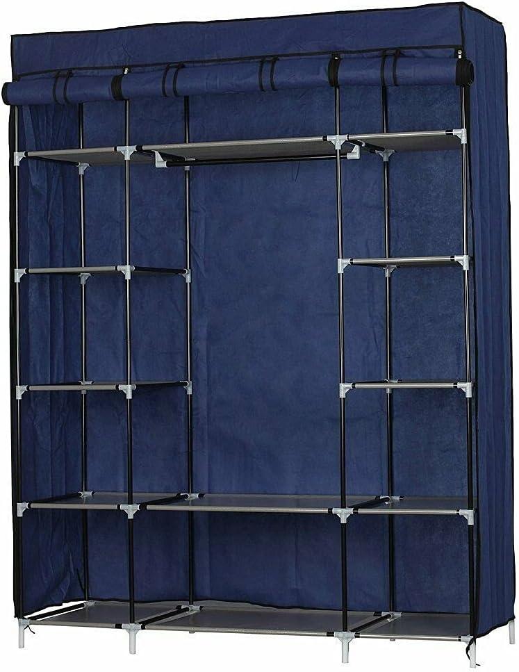 LCSA 5-Layer 12-Compartment Finally popular brand Non-Woven Fabric C Wardrobe Portable Manufacturer OFFicial shop