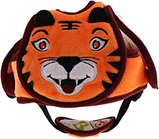 Blesiya Toddler Plush Safety Helmet Baby Child Walking Crawling Headguard Hat Head Protective Harnesses Cap - Tiger, as described