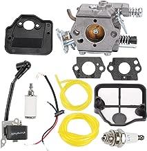 Hayskill Carburetor w Air Filter Repower Kit for Husqvarna 36 41 136 137 141 142 Chainsaw Parts Walbro WT-834 WT-657 WT-529 WT-289 WT-285 WT-239 WT-202 Carb 530071345 530071987