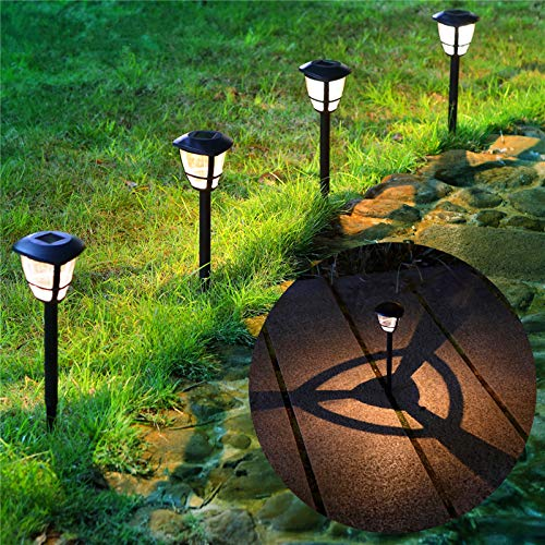 MAGGIFT 12 Pack Solar Powered Landscape Lights Outdoor...