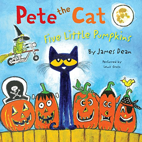 Pete the Cat: Five Little Pumpkins audiobook cover art