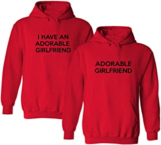 I Have an Adorable Girlfriend Matching 2-Pack Hooded Sweatshirt Set