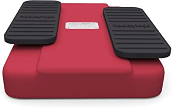 happylegs Red Edition- The Seated Walking Machine + Foot Straps. The Best Passive Leg Exerciser Worldwide