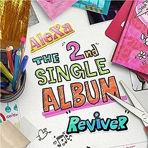 ALEXA [ REVIVER ] 2nd Single Album. 1ea CD+46p Photo Book+1ea Sitcker+3ea Photo Card K-POP SEALED+TRACKING NUMBER
