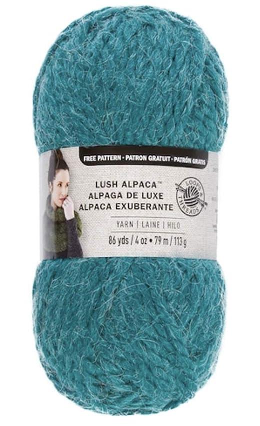 Loops & Threads Lush Alpaca Yarn - Peacock