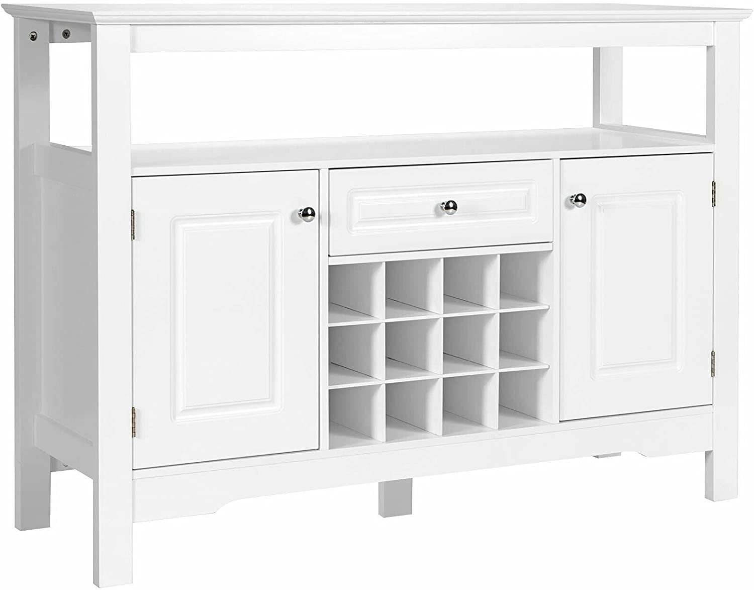 White Kitchen Dining Room Storage Buffet Max 73% OFF Table Sever C Sideboard Gorgeous
