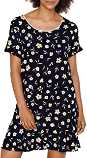 Night Floral Modal Sleep Shirt