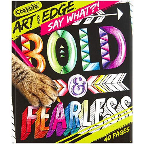 Crayola Art with Edge, Say What?! Coloring Book