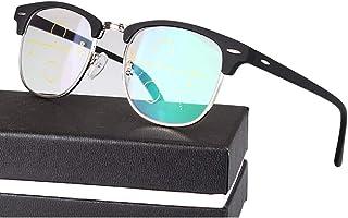 6ecdbefda6 TCYLZ Retro Smart Zoom Gafas de Lectura, Lentes para Hombres y Mujeres Gafas  de computadora