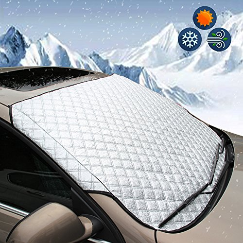 BEEWAY Heavy-Duty Car Windshield Cover
