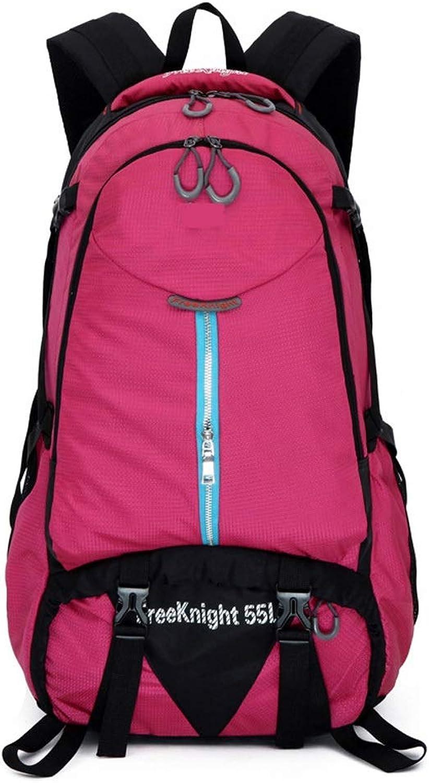 0b6de7a3fafa Mountaineering Backpack, 55L MultiFunction Nylon Leisure Camping ...