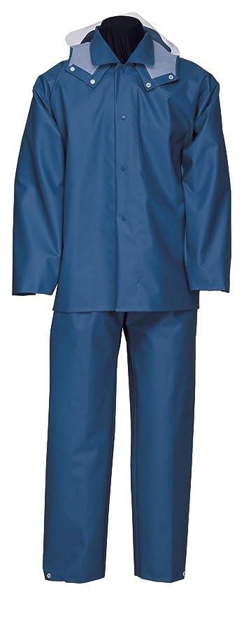 ぼろクリーク選ぶナダレス 雨衣 レインウエア レンジヤ-ス-ツ 6000 ブル- LLサイズ