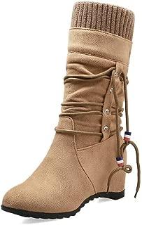 BalaMasa Womens ABS13910 Pu Boots