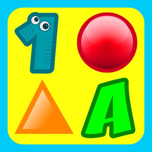 3 Preschool Activities in One App - Fun Educational Kids Games (ABC...