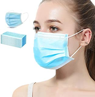 Best VCAN 3-Ply Safety Face Mask Disposable Elastic Earloop Blue 50Pcs Review