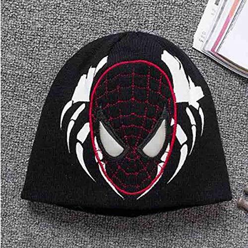 HUOQILIN Disney Kinder Winter Hoed Marvel Spider-Man Venom Jongens En Meisjes Spelen In De Sneeuw Oor Cap Outdoor Warm Ski Cap