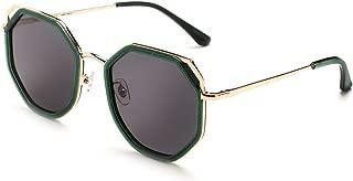MUJOSH Polarized UV Protection Sunglasses for Women, Full Rim Geometric Trendy Style with Velvet Case