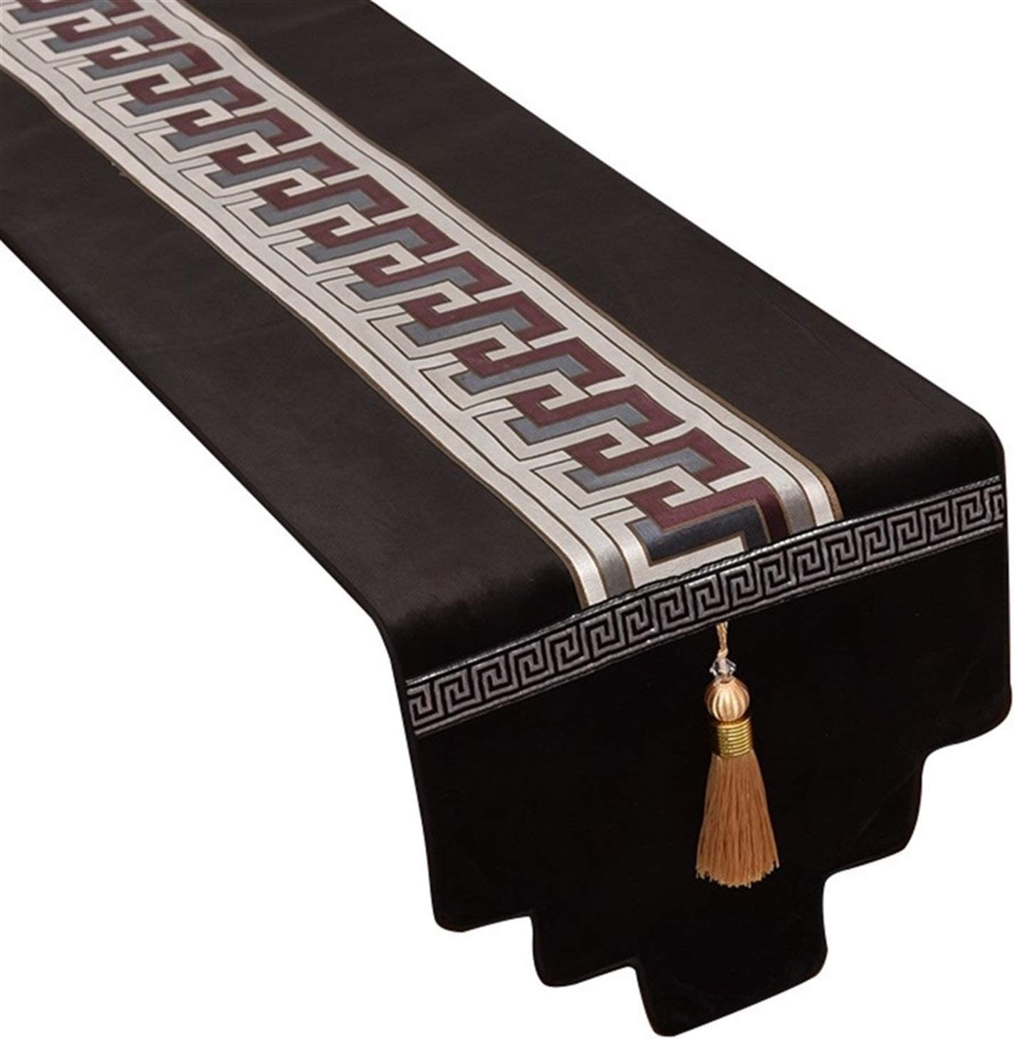 GDXFSM Table Runners Luxury Classy Embroidery Style Tas Challenge the Indianapolis Mall lowest price European