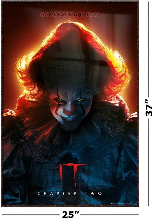 14 24x36 IT chapter 2 two 2019 movie horror Pennywise Poster C535