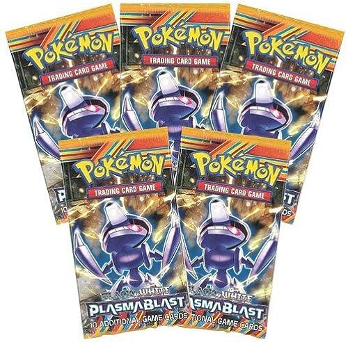 salida de fábrica 5x Pokemon Plasma Plasma Plasma Blast Booster Packs Sealed [Toy]  Hay más marcas de productos de alta calidad.