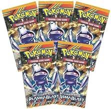 5x Pokemon Plasma Blast Booster Packs Sealed