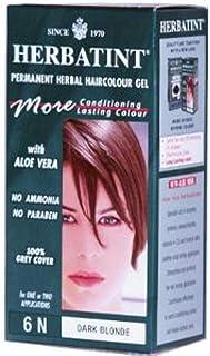 Herbatint Permanent Herbal Haircolor Gel 6N Dark Blonde 4.56 fl oz 135 ml