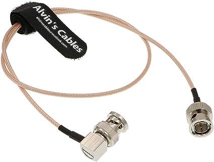 Alvin S Cables Bnc Stecker Auf Stecker Rechtwinklig Kamera