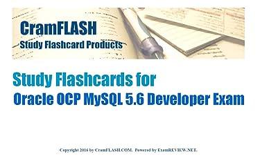 CramFLASH Study Flashcards for Oracle OCP MySQL 5.6 Developer Exam: 50 flashcards included