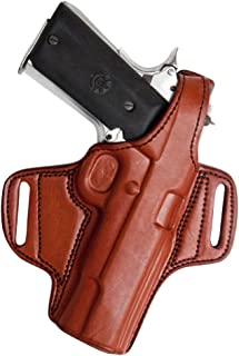Tagua BH1-522 Thumb Break Belt Holster, HK 45 Auto Compact, Brown, Right Hand