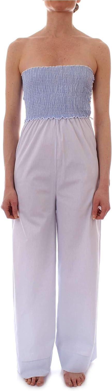 FK Women's FK19G381WHITE White Polyester Jumpsuit