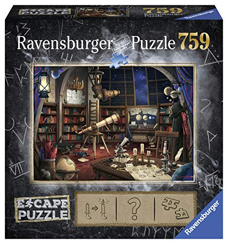 Ravensburger 19956 Space Observatory 759 Teile Kinder & Erwachsene ab 12 Jahren-EIN Escape Room Experience in Puzzle-Form, Mehrfarbig