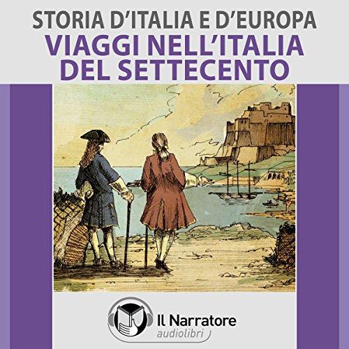 Viaggi nell'Italia del Settecento copertina