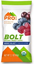 product image for PROBAR - Bolt Organic Energy Chews, Berry Blast, Non-GMO, Gluten-Free, USDA Certified Organic, Healthy, Natural Energy, Fast Fuel Gummies with Vitamins B & C (12 Count)