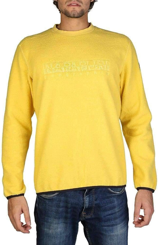 Napapijri  N0YHX9_TAME Men Sweatshirt yellow   S