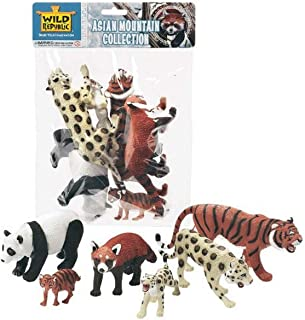 Wild Republic Asian Mountain Animals Polybag, Gifts for Kids, Toy Figurines, Party Supplies, Sensory Play, Kids Toys, 6 Pi...