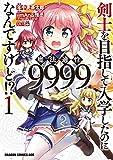 剣士を目指して入学したのに魔法適性9999なんですけど!?(1) (ドラゴンコミックスエイジ)