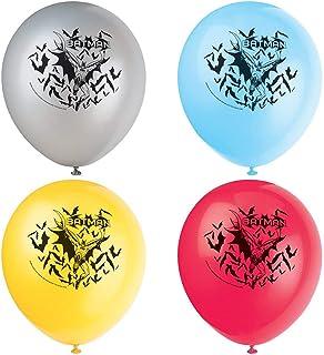 "12"" Latex Batman Balloons, 8ct"