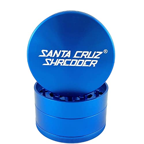 Santa Cruz Shredder Aluminum Herb Grinder 4 Piece Large 2 3/4