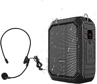 Portatil Amplificador de voz (18W) with 2200mAh pila al lithiumand Wired Micrófono para las guías, los profesores, conférenciers, directivos, entrenador electronica,Se leva