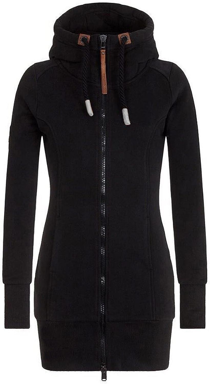 JINF Oversize Coats-Warmer Winter Jacket-Women Fashion Solid Hoo