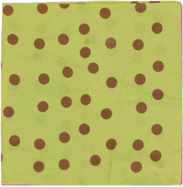 Seaward & Stearn Men's Floating Dots Silk Pocket Square