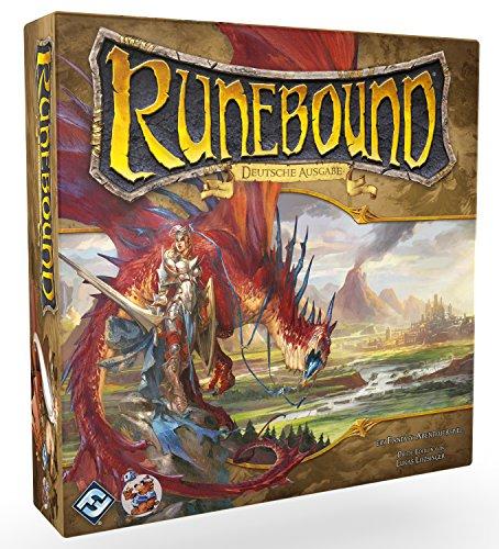Asmodee HEI1400 Runebound Ein Fantasy-Abenteuerspiel, 3. Edition, Spiel