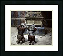 Framed Wall Art Print Moses and Joshua in The Tabernacle by James Jacques Joseph Tissot 18.00 x 15.88