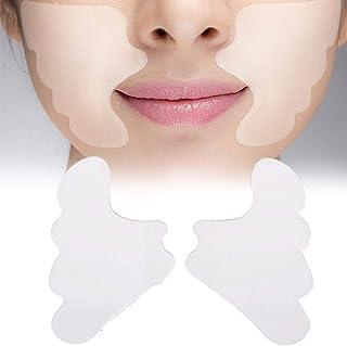 ZHANGLI Silicone Anti-Wrinkle Cheek Patch - 2 Pcs Anti Wrinkle Pad Forehead Silicone Cheek Patch Reusable Practical Lifting