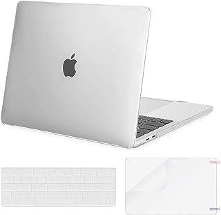 MOSISO Custodia Compatibile con MacBook PRO 13 A2338 M1 A2289 A2251 A2159 A1989 A1706 A1708 2020-2016, Plastica Custodia R...