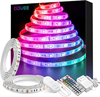 Govee LED Strip Lights 32.8ft Waterproof Color Changing...