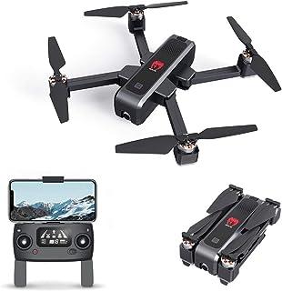 EACHINE EX3 Drone 2k GPS Drone Profesional con Camara 2k Drone Brushless Motor Drone GPS 5G WiFi FPV Drone Tiempo Real Flujo Óptico OLED Conmutable Remoto Drone Plegable Drone RC Quadcopter RTF