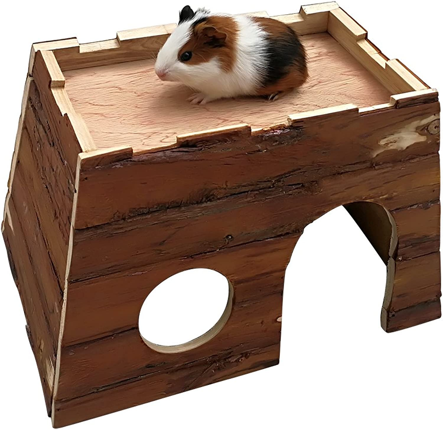 B&P Hamster Castle Wooden House
